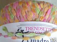 Trendsetter  QUADRO PRINT Ribbon Novelty Yarn,#1507