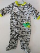 Baby boys sleepwear Boys Camouflage pajamas Boys clothes Dinosaur Nb to 3/6 mos