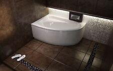Offset Corner Bath *CORNEA* SPACE SAVER 1400 x 800mm BATHTUB 140 X 80