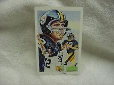 BEAUTIFUL Terry Bradshaw 1991 Legends Postcard, Pittsburgh Steelers, NICE!!