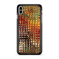 Mixed Golden Bumble Bee Honey Comb Pattern Metallic Effect 2D Phone Case Cover