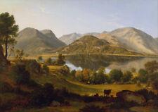 John Glover: Ullswater, Early Morning. Art Print/Poster (4467)