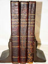 Le Magazine Francais 3 Vols 1833-34 Half Calf