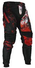 Heyberry Motocross Enduro Quad Hose schwarz weiß rot Gr. M L XL XXL