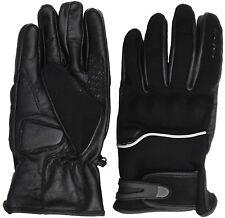 Roleff Racewear Motorradhandschuhe - Sommer Handschuhe aus Leder/ Textil, M-3XXL