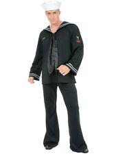 Adult Men's Black South Seas Sailor Navy Costume