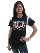MC5 kick out the jams 1970 Hockey T-Shirt Womens Jersey Black 100%Cotton