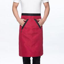 Prettyia Unisex Chef Works Bistro Apron Half Waist Apron for Women Men