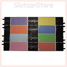 Slot-Dots Slotcar Stickerset 8 Farben (Markierung Spur & Auto) Carrera-/Holzbahn