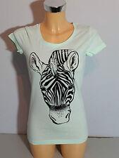 """""""ICHI"""" Damen T-Shirt  Gr. S  hellgrün  mit Motiv   Neu mit Etikett"""