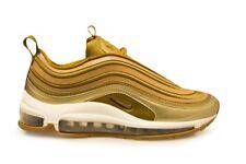 Womens Nike Air Max 97 Ultra '17 - 917704 901 -  Metallic Gold White Trainers