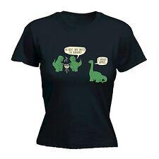 Dinosauro BBQ Da Donna T-Shirt Tee T-REX BBQ Grill DINO Divertente Compleanno Regalo Moda