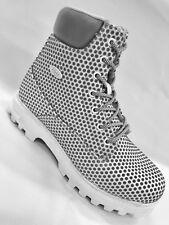 Men's White Fashion Boots