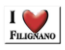 CALAMITA MOLISE ITALIA FRIDGE MAGNET MAGNETE SOUVENIR I LOVE FILIGNANO (IS)
