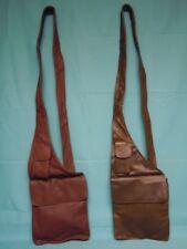 Genuine LEATHER  Leather Cross Body Bag / Messenger Bag
