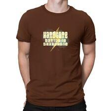Hardcore Baritone Saxophone T-shirt