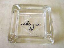 Beautiful Age AGFA GLASS ASHTRAY