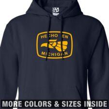 Hecho En Michigan HOODIE - Hooded Made in Imported from Detroit Sweatshirt