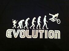 Evolution BMX Stunt Mountain Bike Off Road Tee Shirt All Sizes Christmas Gift