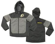 NFL Youth Washington Redskins Light Weight All Elements Jacket , Grey