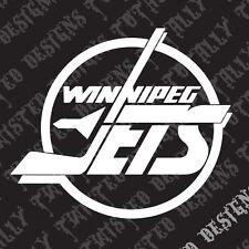 Winnipeg Jets car truck vinyl decal sticker NHL Hockey