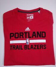 Portland Trail Blazers Adidas Shirt Ultimate Tee Climalite Long Sleeve 2xl