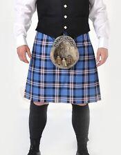 Rangers vestida Mod 8 Yarda De Lana Hecho en Escocia Kilt £ 299 todos los tamaños ahora £ 199