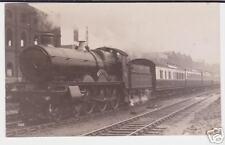 Steam Train Engine At Kensal Green / Railway / Postcard
