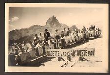 LE PETIT TRAIN , SAGETTE du LAC D'ARTOUSTE , Gros plan