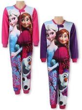 Disney Frozen* Elsa Anna & Olaf* Schlafanzug Overall Fleece 98 - 128 NEU