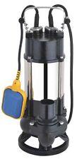 Pompa elettropompa sommersa drenaggio e fogna HP 0,8-1-1,5-2 monofase e trifase