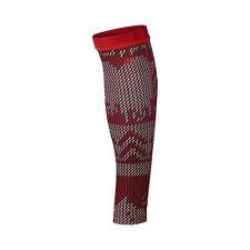 Nike Women's Pro Hyperwarm Ski Sweater Calf Sleeves-Action Red