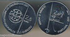 2,5 € conmemorativa 2011 Portugal Army College