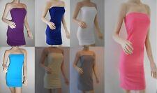 TOPSHOP Ladies Bodycon Boobtube Top Tunic Dress Size 8 10 12 14 BNWT FREE P&P