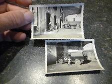 Photo d'1 Ancienne Automobile Rosengart LR4 Citroen B2 Peugeot 201 Camionnette