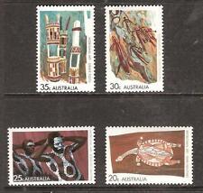Australia # 504-7 Mnh Aboriginal Art