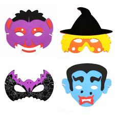 HALLOWEEN CHILDRENS FOAM MASK Vampire Witch Bat Frankenstein Party Dressing Up👻
