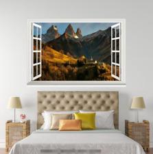3D Takayama Sunny 53 Open Windows Mural Wall Print Decal Deco AJ Wallpaper Ivy