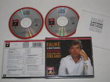FAURE/13 J.P.COLLARD NOCTURNES (EMI 7691492) 2xCD BOX