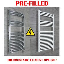 Electric Towel Rail Radiator PRE-FILLED Thermostatic Element Bathroom Rad Warmer