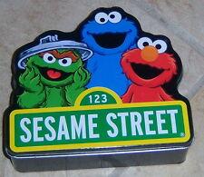 Sesame Street Collectible Tin w/ Mens Size S M L or XL Print Boxer MIB $24
