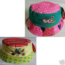 Kids Boys Girls Bush Bucket Sun Summer hat 100%Cotton 46-50cm