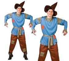 ADULTE MAGICIEN D'Oz épouvantail Costume Conte fées Déguisement hommes Robe