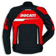 Ducati Alpinestar Speed Evo C1 Giacca pelle Uomo Nero