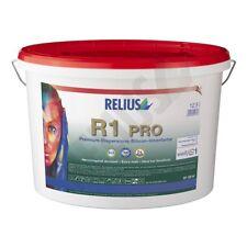 Relius R1 Pro, weiß, 12,5l, Innenwandfarbe, Siliconharzfarbe