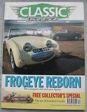 Classic & Sportscar 12/1990 featuring Bentley, Cadillac, Sunbeam, McLaren, Simca