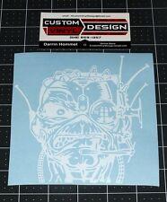 """6"""" Iron Maiden EDDIE Somewhere In Time Vinyl Decal Sticker Truck Car Window"""