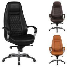 FineBuy AURELIO chaise ergonomique patron cuir chaise de bureau chaise de bureau