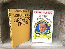 Philippe Bouvard: Les fous rires des grosses têtes / Le petit Bouvard illustré