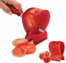 Kitchen Clip Tomato Fruit Cucumber Vegetable Salad Slicer Cutter Potato Onions